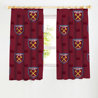 West Ham - Old VS New Crest Curtains - 54 Inch - Cover