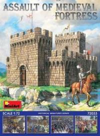 Miniart - 1/72 - Assault of Medieval Fortress (Plastic Model Kit) - Cover