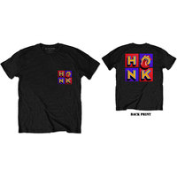 The Rolling Stones - Honk Album F&B Men's T-Shirt - Black (X-Large) - Cover