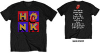 The Rolling Stones - Honk Album Tracklist Men's T-Shirt - Black (Small) - Cover
