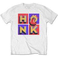 The Rolling Stones - Honk Album Men's T-Shirt - White (Small) - Cover