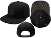 Queen - Crest Black Snapback Cap
