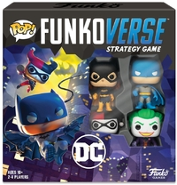 Funko Pop! Funkoverse Strategy Game - DC Comics Base Game (Board Game)