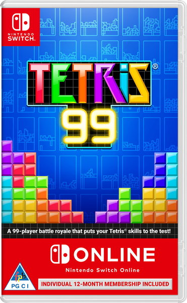 Tetris 99 + 12 Month Subscription Code Nintendo Switch Online (NSO)  (Nintendo Switch)