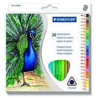 Staedtler - Pencil Crayons Full Length 24'S - Triangular Artist (Assorted)