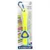 Staedtler - Carded 1 up - Broad Line Width (2-5mm) - Non Toxic Highlighter Yellow (Box of 6)