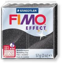 Staedtler - Black 56g Fimo Classic Modelling Clay - Cover