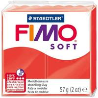 Staedtler - Red 56g Fimo Classic Modelling Clay - Cover