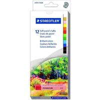 Staedtler - Soft Pastel Chalks 12'S (Assorted)