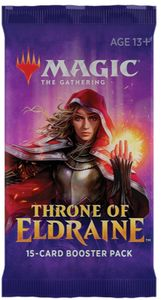 Magic: The Gathering - Throne of Eldraine Single Booster (Trading Card Game) - Cover