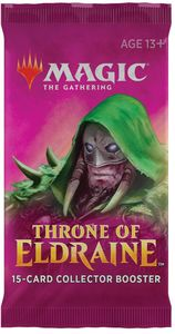 Magic: The Gathering - Throne of Eldraine Single Collector Booster (Trading Card Game) - Cover