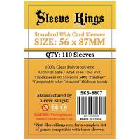 Sleeve Kings - Card Sleeves - Standard USA (110 Sleeves)