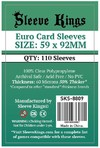 Sleeve Kings - Standard Card Sleeves - Euro (110 Sleeves)