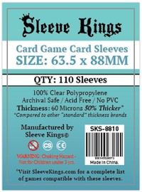 Sleeve Kings - Card Sleeves - Standard Card Game (110 Sleeves) - Cover
