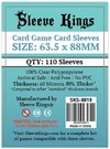 Sleeve Kings - Card Sleeves - Standard Card Game (110 Sleeves)