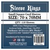 Sleeve Kings - Card Sleeves - Small Square (110 Sleeves)