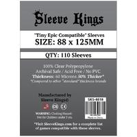 Sleeve Kings - Card Sleeves - Tiny Epic Compatible (110 Sleeves)
