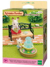 Sylvanian Families - Bench and Fountain (Playset)