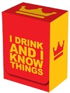 Legion Supplies - Deck Box - I Drink and I Know Things!