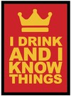Legion Supplies - Card Sleeves - I Drink and I Know Things! (50 Sleeves)