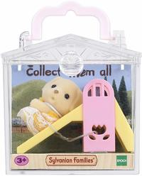 Sylvanian Families - Baby Carry Case (Dog On Slide) (Playset) - Cover