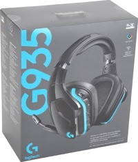Logitech G935 Wireless or Wired Gaming Headset With Mic - 7.1 DTS - Cover