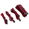 Corsair Premium Individually Sleeved Red/Black Psu Cable Kit Starter Package