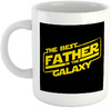 The Best Father In The Galaxy - White Ceramic Mug