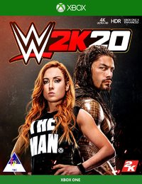 WWE 2K20 (Xbox One) - Cover
