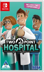 Two Point Hospital (Nintendo Switch) - Cover