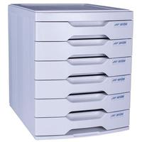 SDS - 6 Drawer Filing System  - Desk Drawers Egg Shell