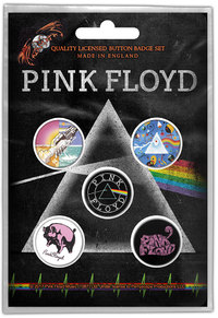 Pink Floyd - Prism Button Badge (Pack of 5) - Cover