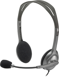 Logitech H111 Stereo Headset with Microphone (Open Box Unit) - Cover
