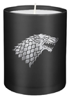 Game of Thrones - House Stark - Large Glass Candle (8cm x 9cm)