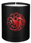 Game of Thrones - House Targaryen - Large Glass Candle (8cm x 9cm)