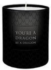 Game of Thrones - You're A Dragon, Be A Dragon - Glass Votive Candle (6cm x 7cm)