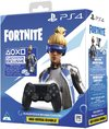 Sony DUALSHOCK 4 Wireless Controller - Fortnite Neo Versa Bundle - Black (PS4)