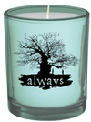 Harry Potter - Always - Glass Votive Candle (6cm x 7cm)