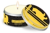 Harry Potter - Hufflepuff - Citrus Scented Tin Candle Large (8cm x 5cm)