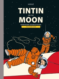 Tintin on the Moon - Herge (Hardcover) - Cover