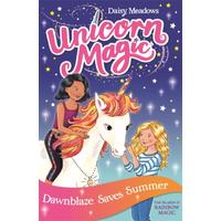 Unicorn Magic: Dawnblaze Saves Summer - Daisy Meadows (Paperback)