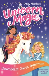 Unicorn Magic: Dawnblaze Saves Summer - Daisy Meadows (Paperback) - Cover