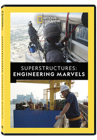 Superstructures: Engineering Marvels (Region 1 DVD) - Cover