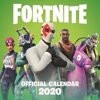 Fortnite Official 2020 Calendar - Epic Games - Cover
