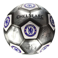 Chelsea - Silver Signature Football (Size 5) - Cover