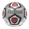 Arsenal - Silver Signature Football (Size 5)