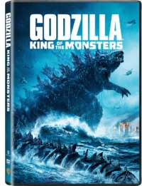 Godzilla King of the Monsters (DVD) - Cover