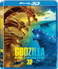Godzilla King of the Monsters (3D Blu-ray) - Cover