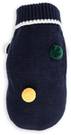 Dog's Life - Diamond Cable Knit Poloneck - Navy (Small)