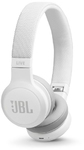JBL LIVE 400BT On-Ear Wireless Headphones with Voice-Assistance (White)
